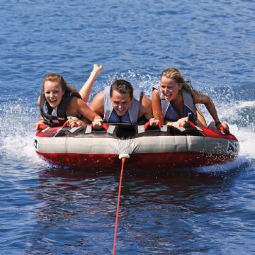 Airhead  G-Force Massive 3 Person Towable Inflatable Tube, Ring, Wakeboard Inflatable